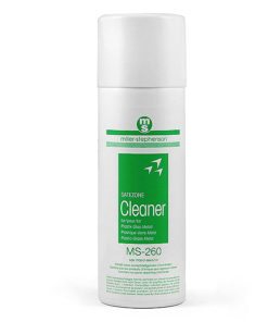 Cleaner for plastic, glass and metal