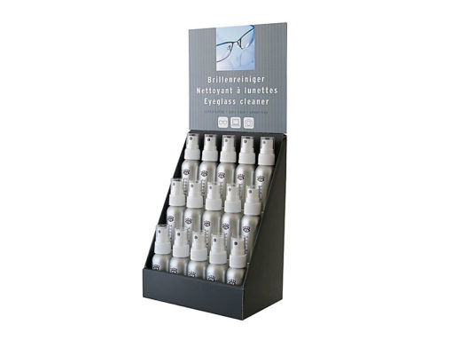 Brillenreiniger, 35 ml, Display à 15 Sück