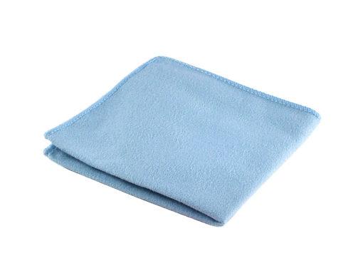 Mikrofasertuch, 20 x 20 cm blau
