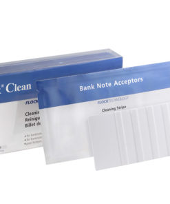 Banknote examiner cleaning strips