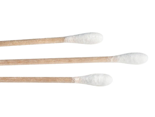 Reinigungs-Stäbchen Watte